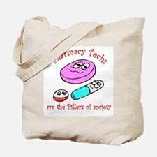 Pillers of society Tote Bag