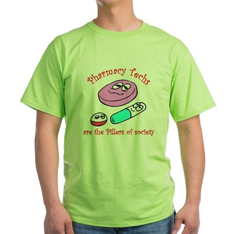 Pillers of society Green T-Shirt