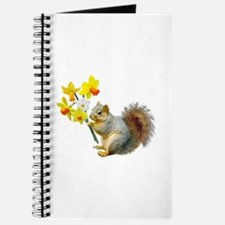 Squirrel Daffodils Journal