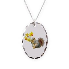 Squirrel Daffodils Necklace
