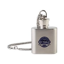 Mont Tremblant Midnight Flask Necklace