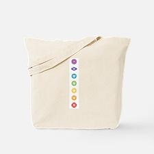 7 chakras Tote Bag