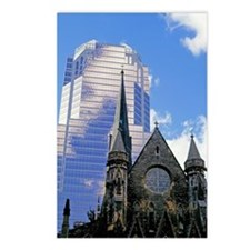 Exterior of a church and  Postcards (Package of 8)