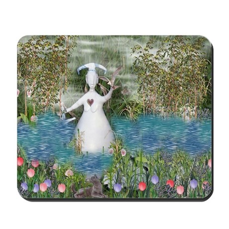 River Goddess Mousepad