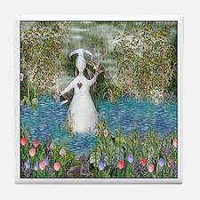 River Goddess Tile Coaster