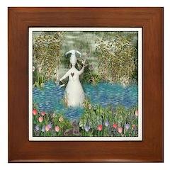 River Goddess Framed Tile