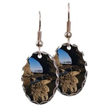 Hole in the Wall formation, Ria Earring Oval Charm
