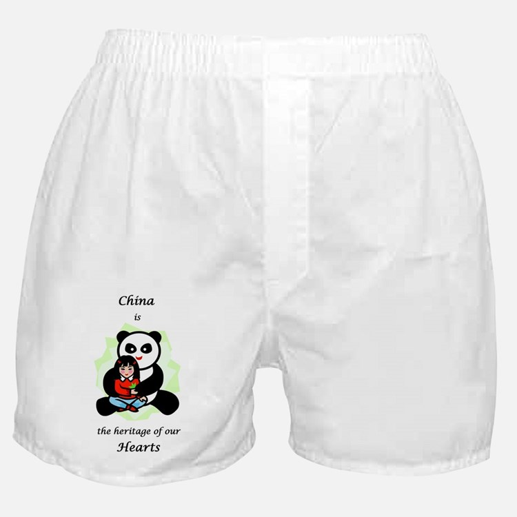 China Is The Heritage Of Our  Boxer Shorts