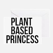 Unique Vegetarian princess Greeting Card