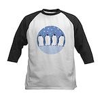 Penguin Quartet Kids Baseball Jersey