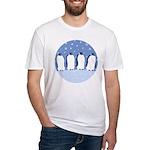Penguin Quartet Fitted T-Shirt