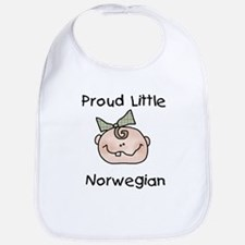 Little Norwegian(Girl) Bib
