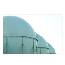 Gas Storage Tanks Postcards (Package of 8)