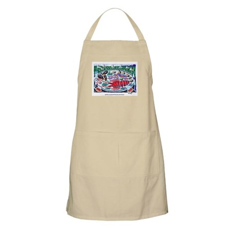 Starfish designs BBQ Apron