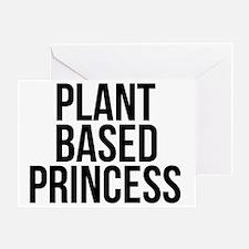 Cute Vegetarian princess Greeting Card