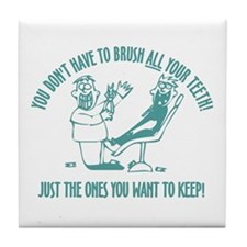 Just The Ones You Want To Keep! Tile Coaster