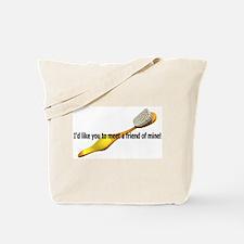 Personal Hygiene, a friend of Tote Bag