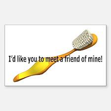Personal Hygiene, a friend of Sticker (Rectangular