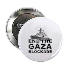 """Unique Anti gaza 2.25"""" Button"""