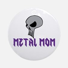 Metal Mom Ornament (Round)