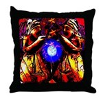 Witchy Women Throw Pillow