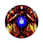 Witchy Women Ornament (Round)