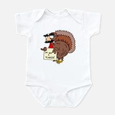 I am not a Turkey Infant Bodysuit