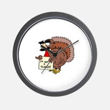 I am not a Turkey Wall Clock