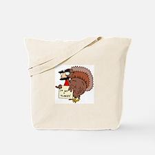 I am not a Turkey Tote Bag