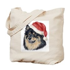 Christmas Finnish Lapphund Tote Bag