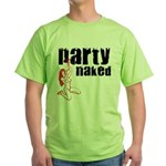 Party Naked Green T-Shirt
