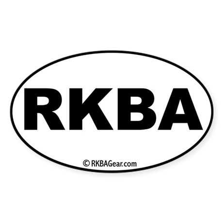 Plain RKBA decal