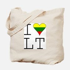 I Love LT Tote Bag