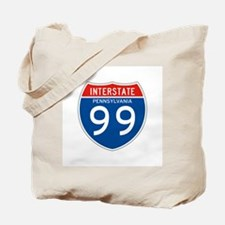Interstate 99 - PA Tote Bag