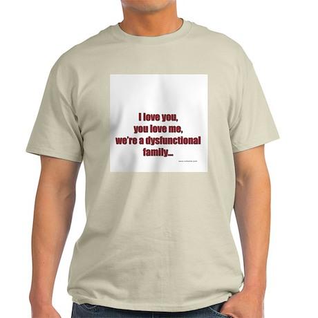 ILY-YLM Ash Grey T-Shirt