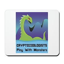 Cryptozoologists Mousepad