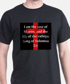 Song of Solomon 2:1 T-Shirt