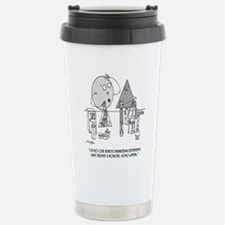Genetics Cartoon Travel Mug