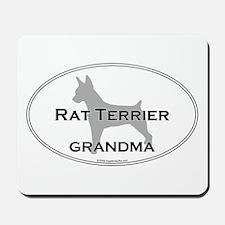 Rat Terrier GRANDMA Mousepad