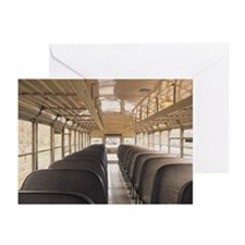 Interior of bus Greeting Cards (Pk of 20)
