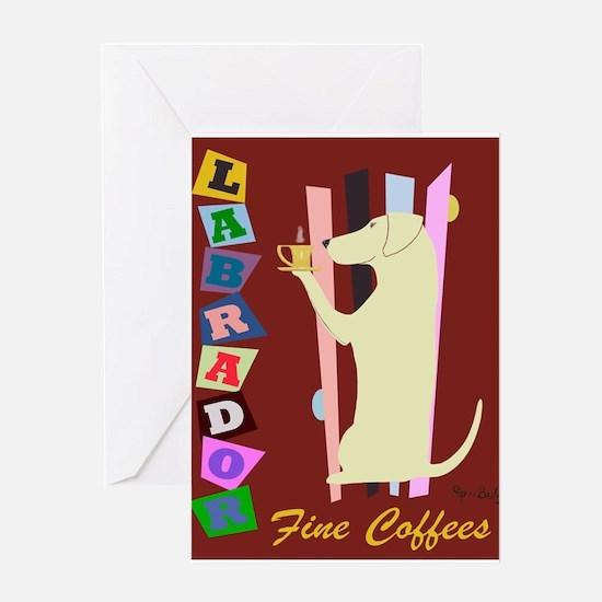 Labrador Fine Coffees Greeting Card