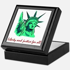 Liberty & Justice for All Keepsake Box