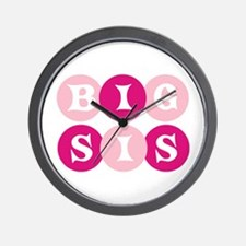 Big Sis Circles Wall Clock