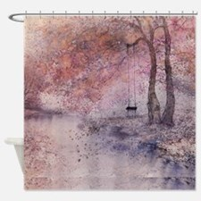 Modern Country Stle Shower Curtain