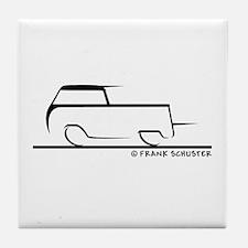 Speedy Crew Cab Tile Coaster