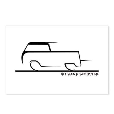 Speedy Crew Cab Postcards (Package of 8)