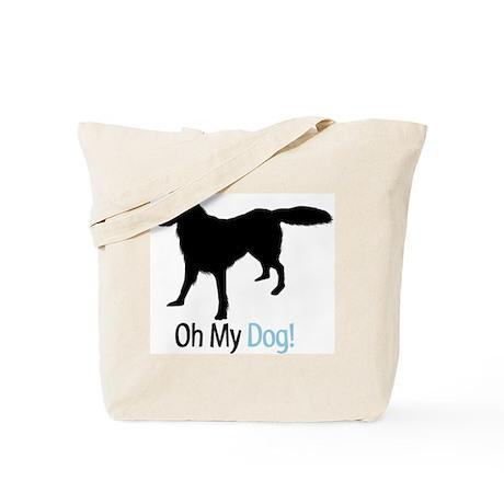 Flat Coated Retriever Tote Bag
