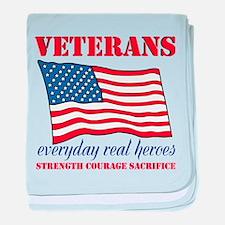 Veterans baby blanket