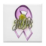 Breast Cancer Awareness - HOPE Tile Coaster