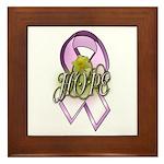 Breast Cancer Awareness - HOPE Framed Tile